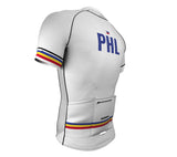 Philippines White CODE Short Sleeve Cycling PRO Jersey for Men and Women