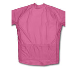 Keep Calm and Never Give Up Pink Winter Thermal Cycling Jersey