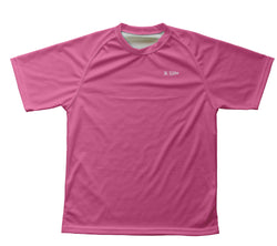 Pink Technical T-Shirt for Men and Women