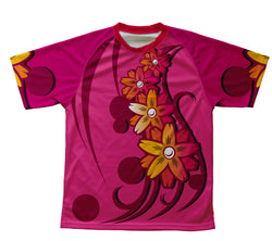 Pink Blosom Technical T-Shirt for Men and Women
