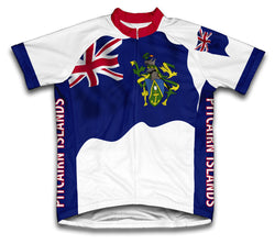 Pitcairn Islands Flag Cycling Jersey for Men and Women