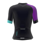 Pixel Ice Blue Short Sleeve Cycling PRO Jersey