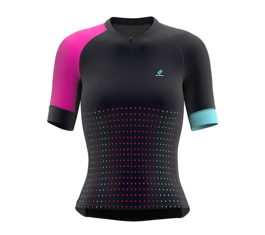 Pixel Pink Short Sleeve Cycling PRO Jersey