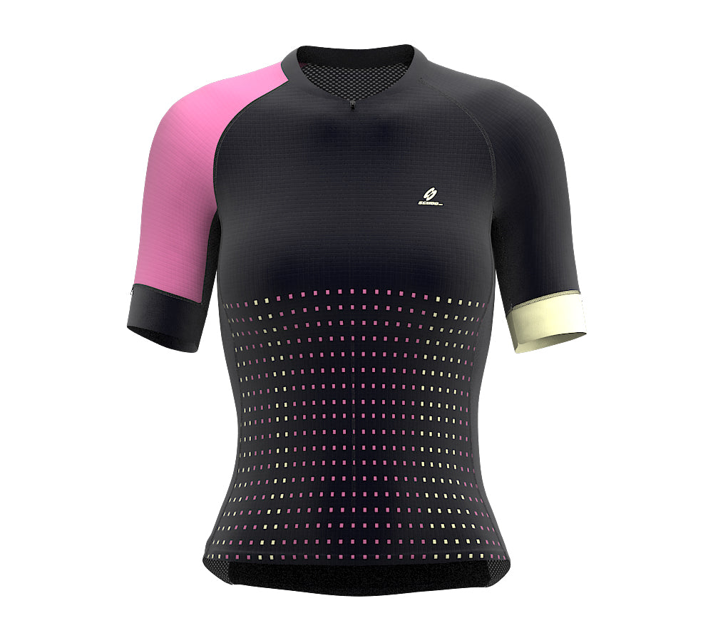 Pixel Rose Short Sleeve Cycling PRO Jersey