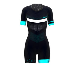 Points Scudopro Cycling Skin Suit Short Sleeve for WomanPoints Scudopro Cycling Skin Suit Short Sleeve for Woman