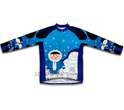 Polar Ice Man Winter Thermal Cycling Jersey