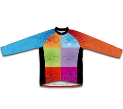 Pop Colors Winter Thermal Cycling Jersey