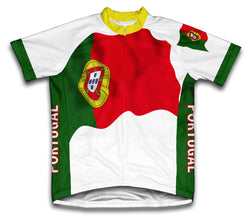 Portugal Flag Cycling Jersey for Men and Women