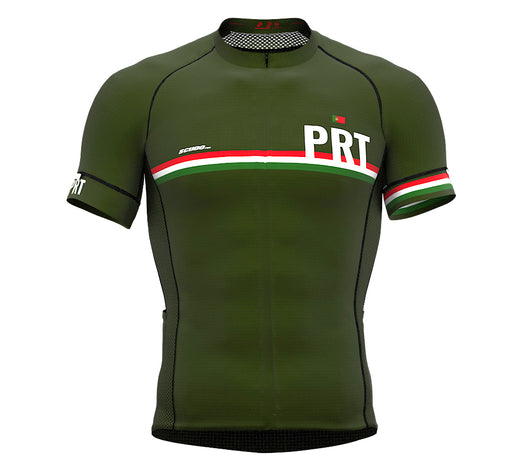 Portugal Green CODE Short Sleeve Cycling PRO Jersey for Men and WomenPortugal Green CODE Short Sleeve Cycling PRO Jersey for Men and Women