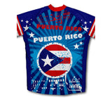 Puerto Rico Flag Winter Thermal Cycling Jersey