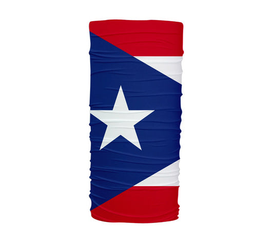 Puerto Rico Flag Multifunctional UV Protection Headband