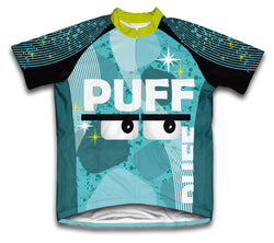 Puff Balls Short Sleeve Cycling Jersey for Men and Women