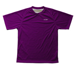 Purple Technical T-Shirt for Men and Women