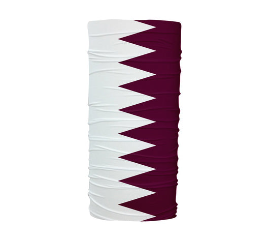 Qatar Flag Multifunctional UV Protection Headband