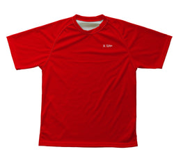 Red Technical T-Shirt for Men and Women