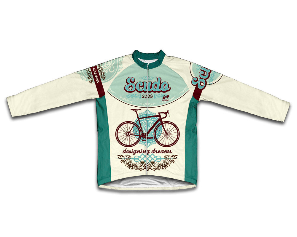 Retro Designing Dreams Winter Thermal Cycling Jersey