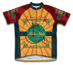 Retro Style Cycling Jersey