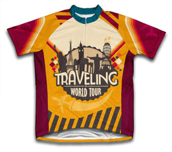 Retro Traveling Cycling Jersey