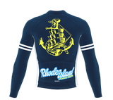 ScudoPro Pro Thermal Long Sleeve Cycling Jersey Rhode Island USA state Icon landmark identity  | Men and Women