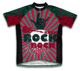 Rock On Short Sleeve Cycling Jersey for Men and Women