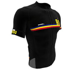 Romania Black CODE Short Sleeve Cycling PRO Jersey for Men and Women