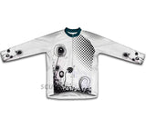 Rotating Flower Winter Thermal Cycling Jersey