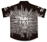 Run Fast Pit Crew Racing Shirt Jersey