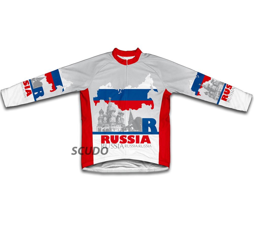 Russia Winter Thermal Cycling Jersey