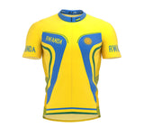 Rwanda  Full Zipper Bike Short Sleeve Cycling Jersey