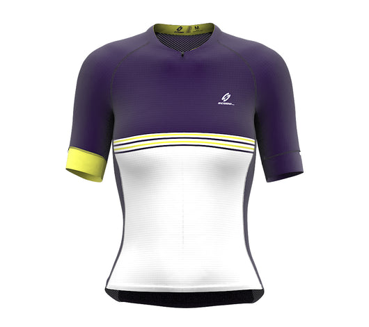 Ryder Violet Short Sleeve Cycling PRO Jersey