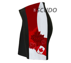 Canada Art Triathlon Shorts
