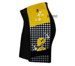 Caution Crashers Triathlon Shorts