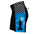 Chess Bishop Triathlon Shorts
