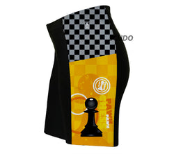 Chess Pawn Triathlon Shorts