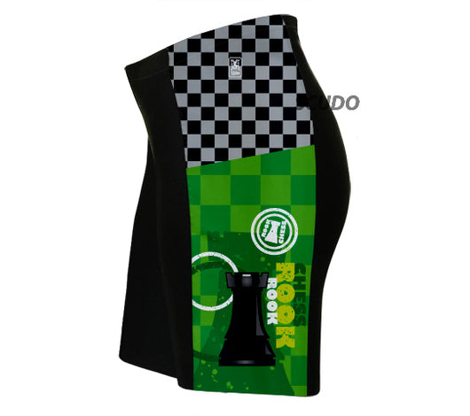 Chess Rook Triathlon Shorts