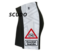 Cyclist Inside Triathlon Shorts