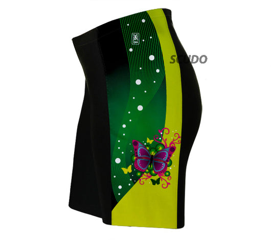 Fluttery Butterfly Triathlon Shorts