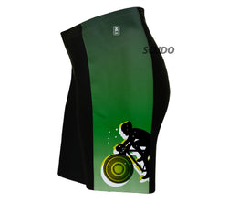 Green Lanter Biker Triathlon Shorts