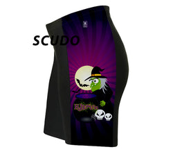 Halloween Witch Triathlon Shorts