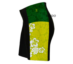 Hawaiian Greens Triathlon Shorts