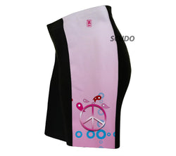 Pink Peace Triathlon Shorts