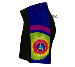 Tie Dye Hippy Triathlon Shorts