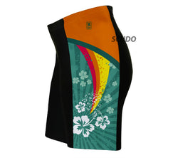 Tropical Fission Triathlon Shorts