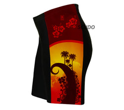 Tropical Sunset Triathlon Shorts