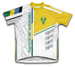 Saint Vincent And The Grenadines ScudoPro Cycling Jersey for Men and Women