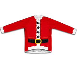 Santa Suit Winter Thermal Cycling Jersey