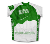 Saudi Arabia Flag Winter Thermal Cycling Jersey