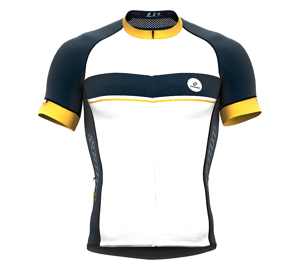 Seashell Canary Short Sleeve Cycling PRO Jersey