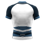 Seashell Cerulean Short Sleeve Cycling PRO Jersey