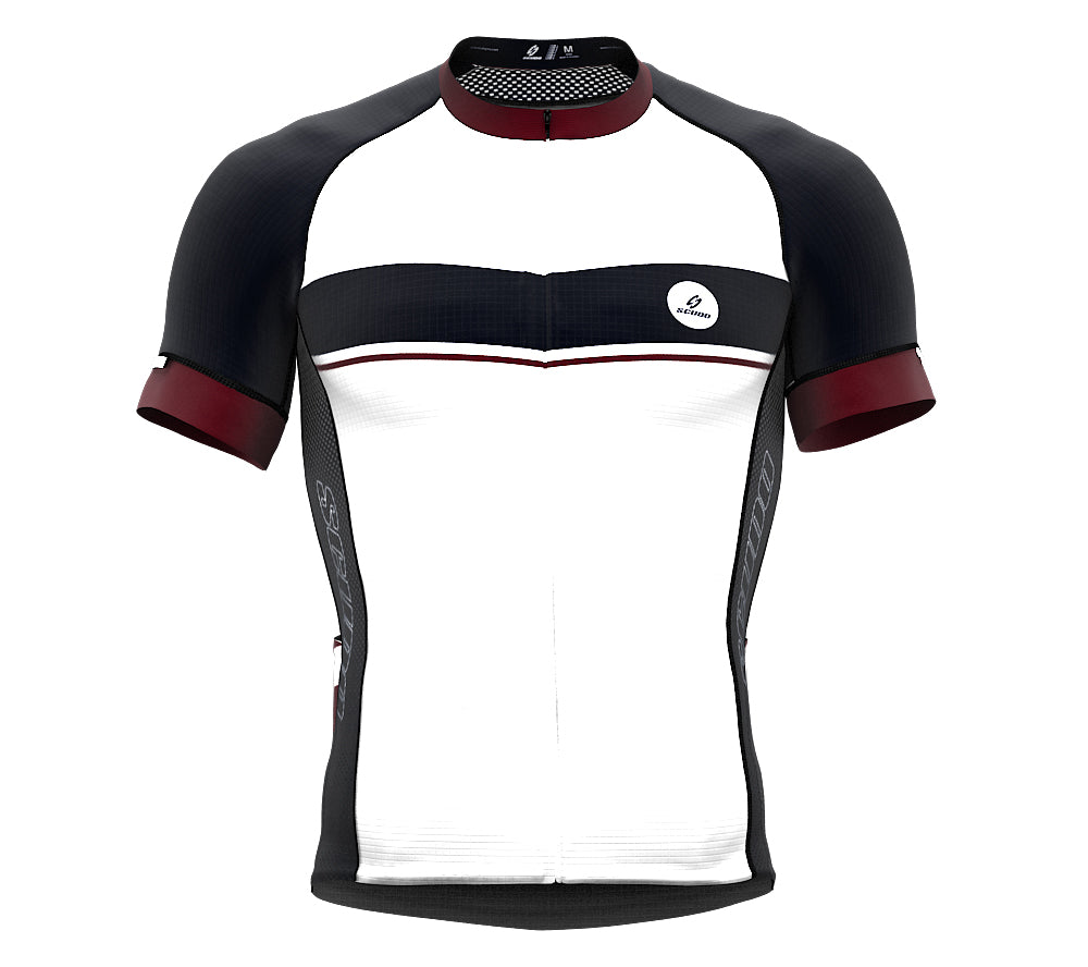 Seashell Mahogany Short Sleeve Cycling PRO Jersey